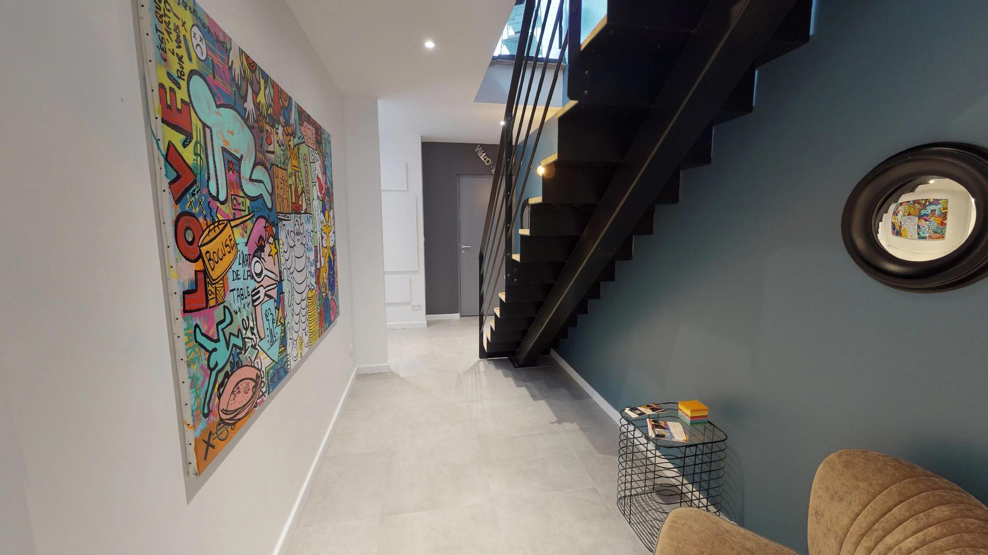 LYON 19 Salomon Reinach Duplex R+3 Suite HAROLD étage 4 sur cour